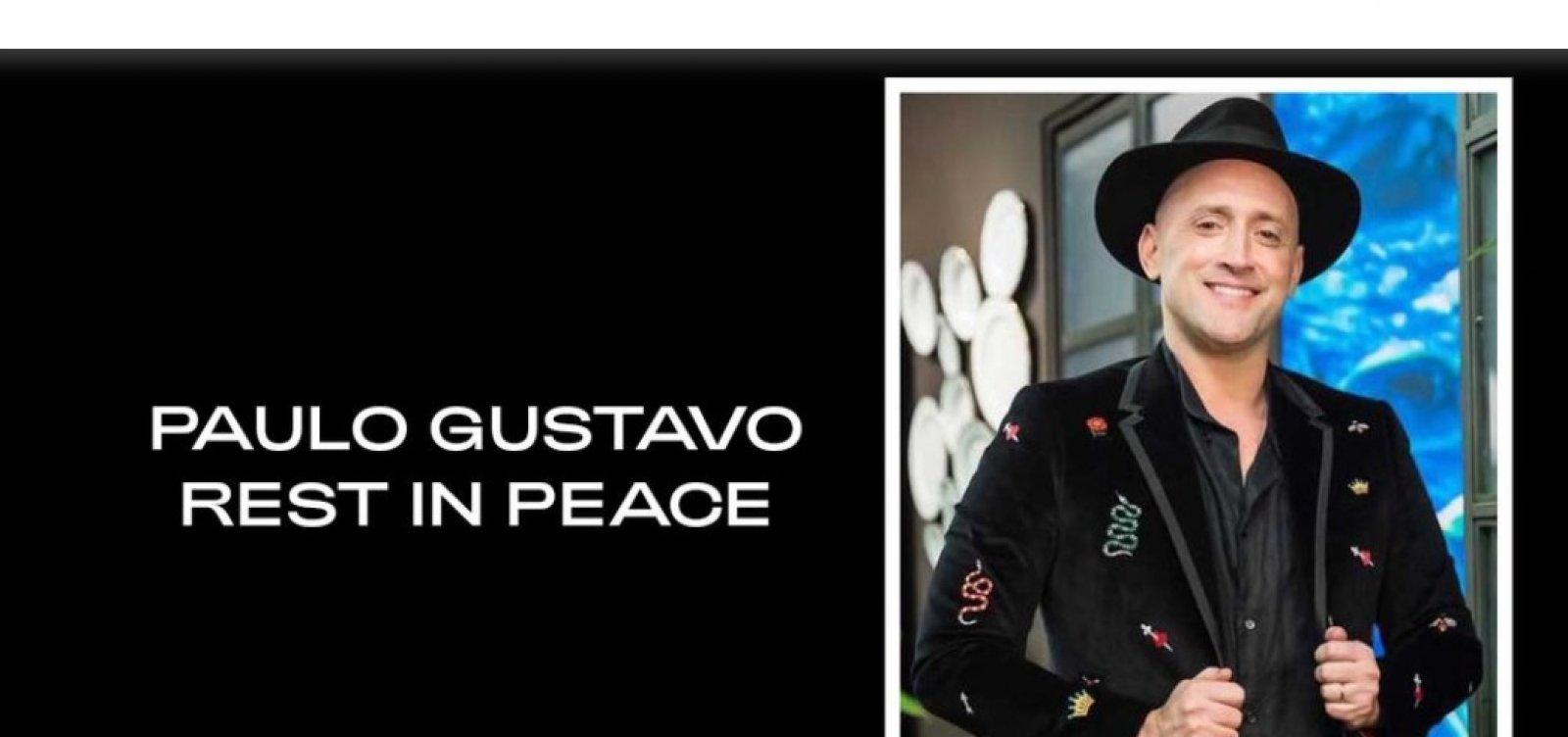 Beyoncé presta homenagem a Paulo Gustavo em site oficial