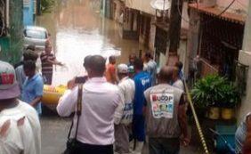 Alagamento em Pirajá: sobe para 130 o número de famílias desabrigadas