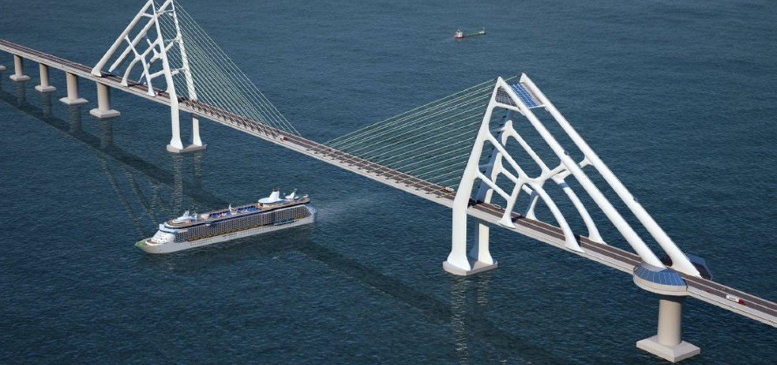 Governo da Bahia se reúne com diretores de empresas responsáveis por ponte Salvador-Itaparica