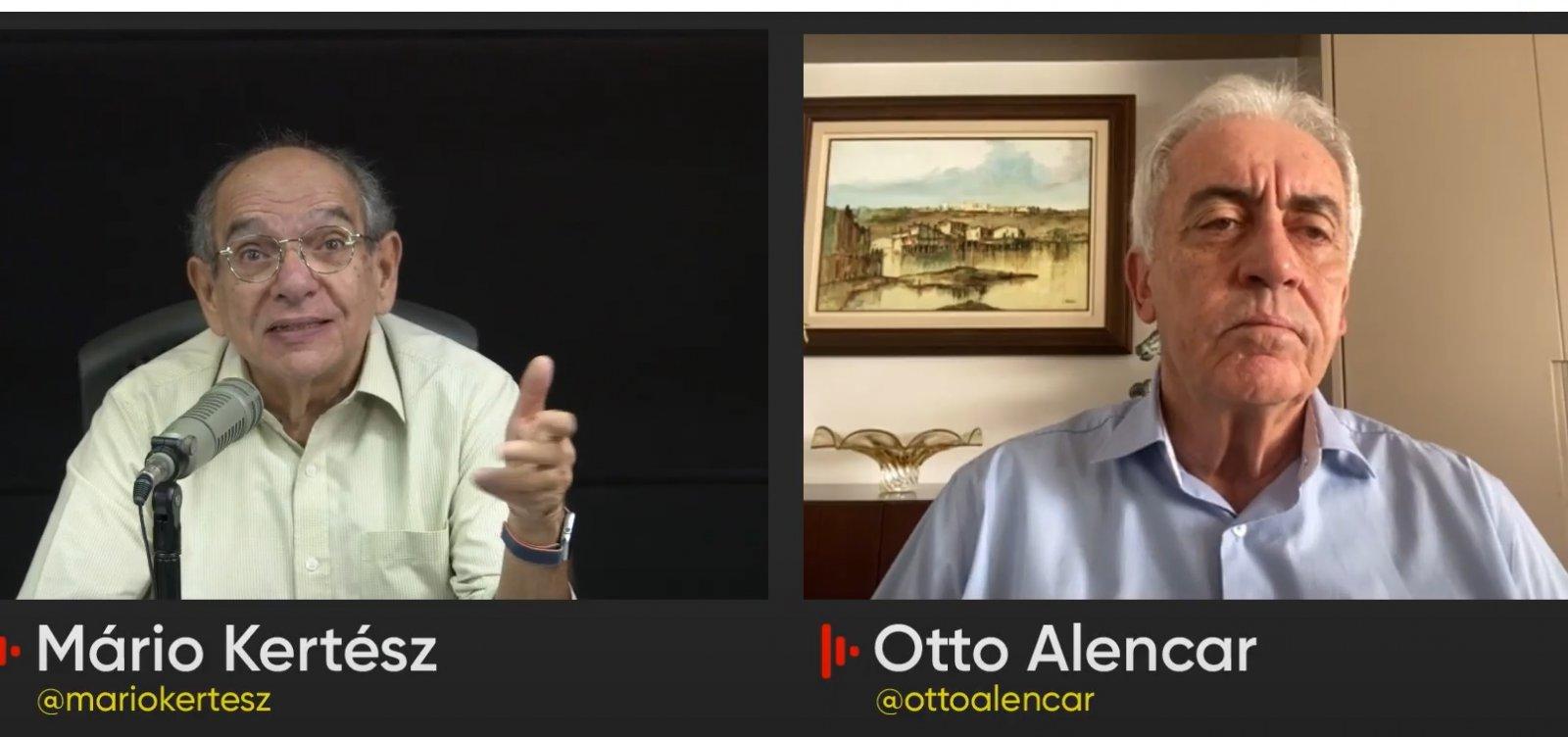 """""""Não é no grito do capitão que vai resolver a ciência"""", diz Otto Alencar"""