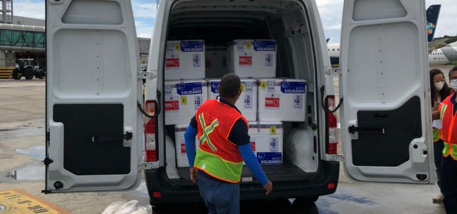 Bahia recebe nova remessa da Oxford e distribuição será no sábado