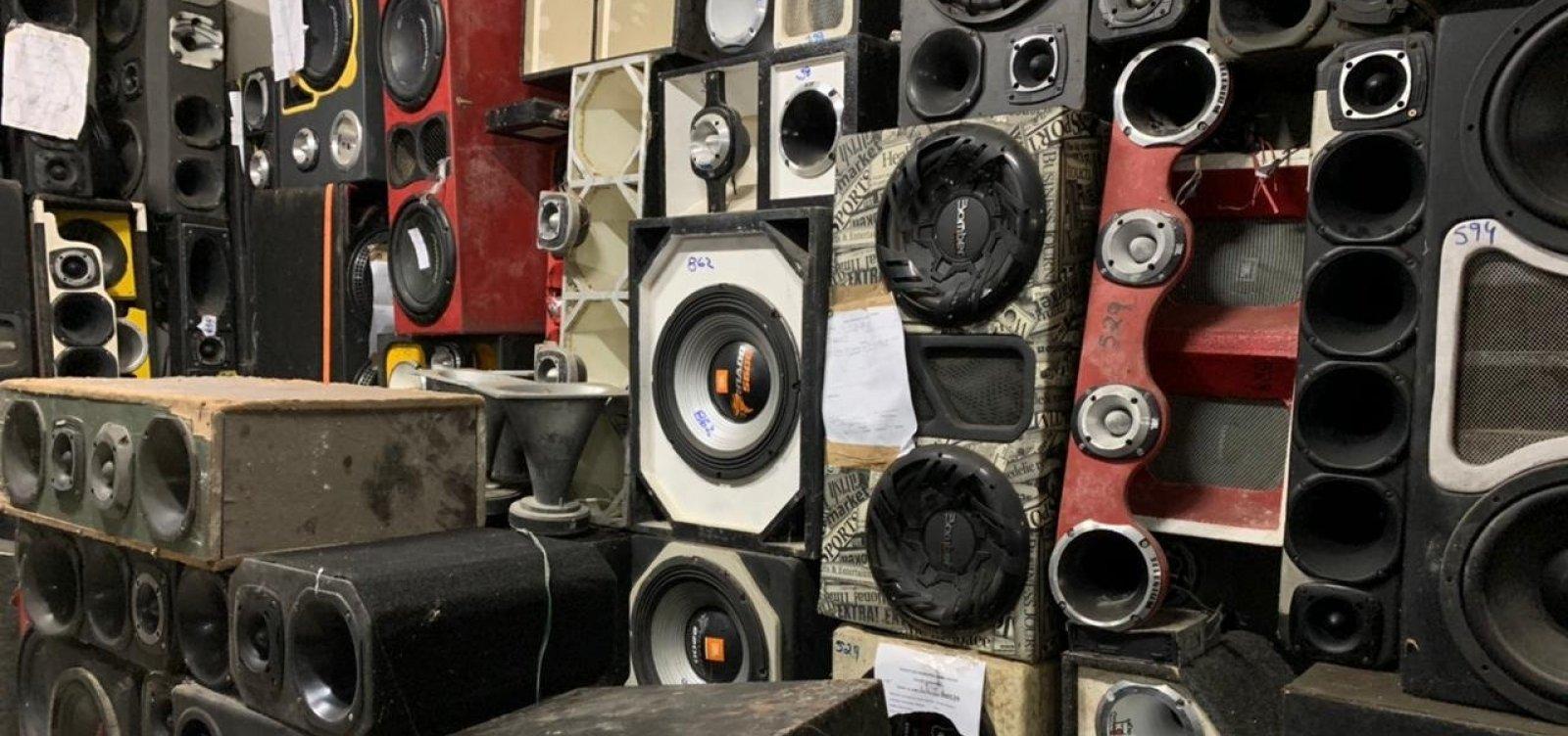 Número de denúncias de poluição sonora em Salvador subiu 131% em 2021