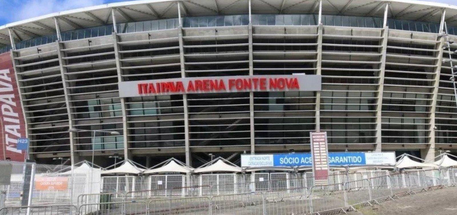 URGENTE: Acidente no Hospital de campanha da  Arena Fonte Nova