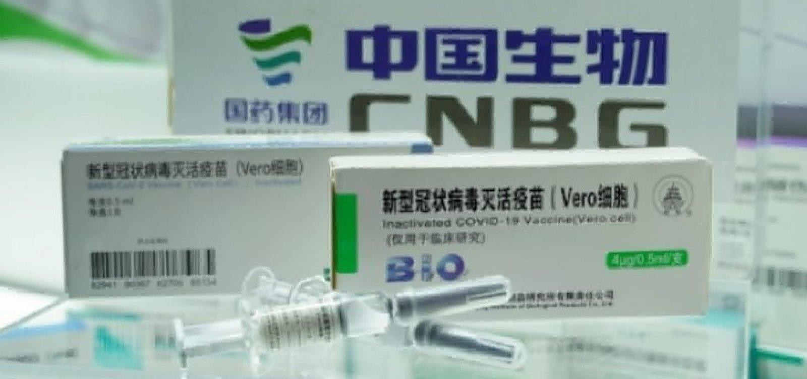 OMS aprova uso emergencial da vacina chinesa Sinopharm contra Covid