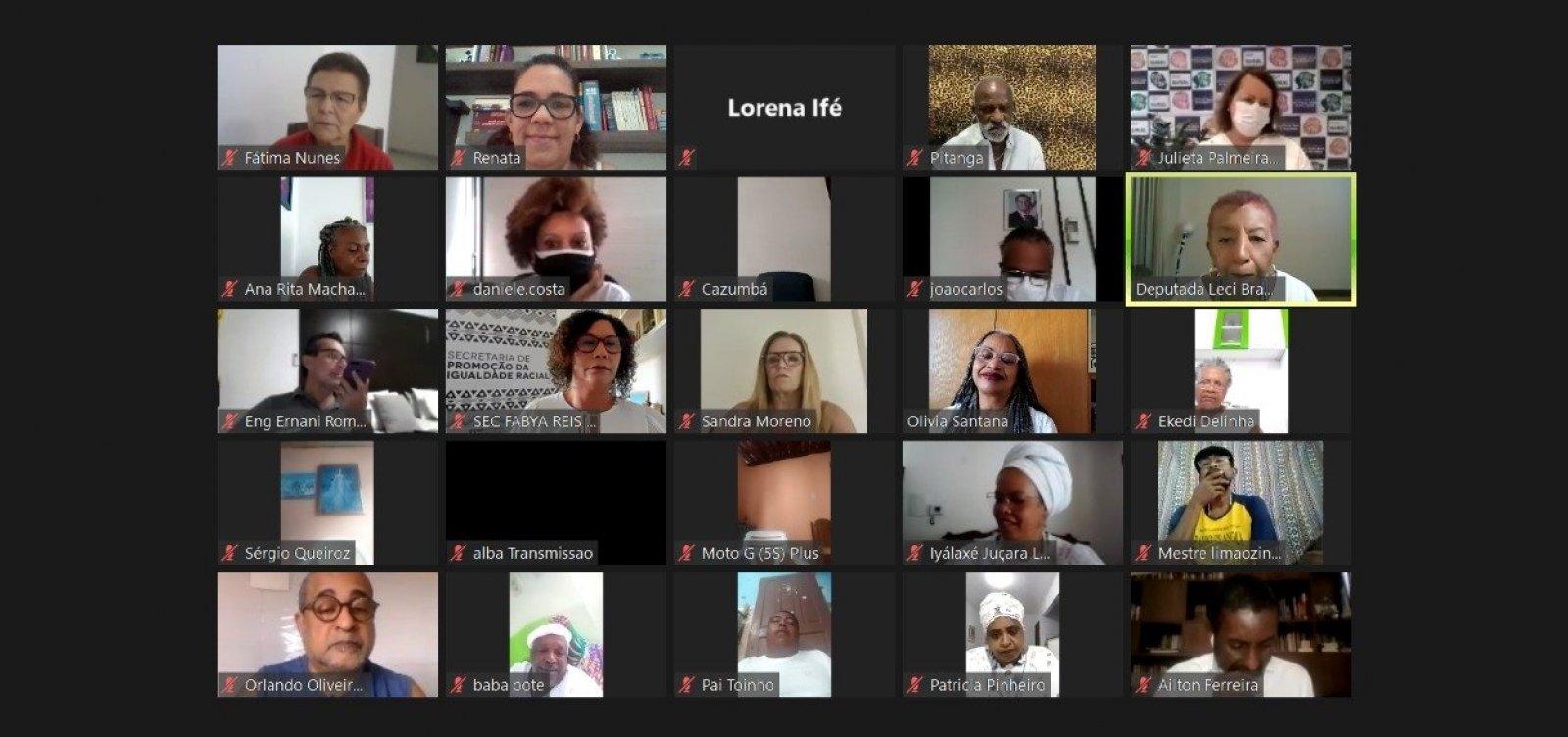 Ato virtual em homenagem ao Bembé do Mercado é invadido por hackers