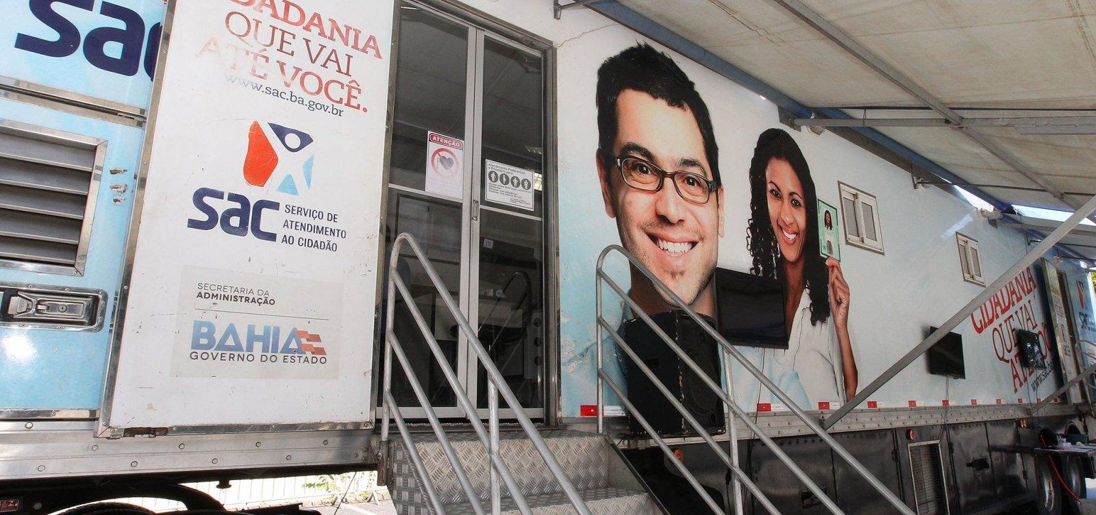 SAC Móvel continua em Jacobina até a próxima terça-feira