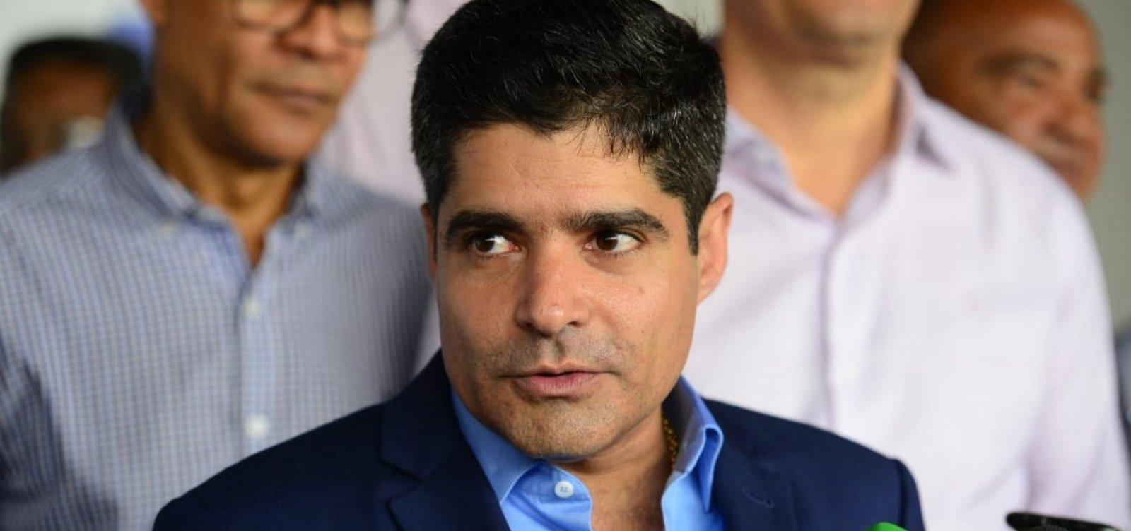 """ACM Neto chama declarações de Maia de """"fake news"""" e reforça desejo: """"disputar o governo"""""""
