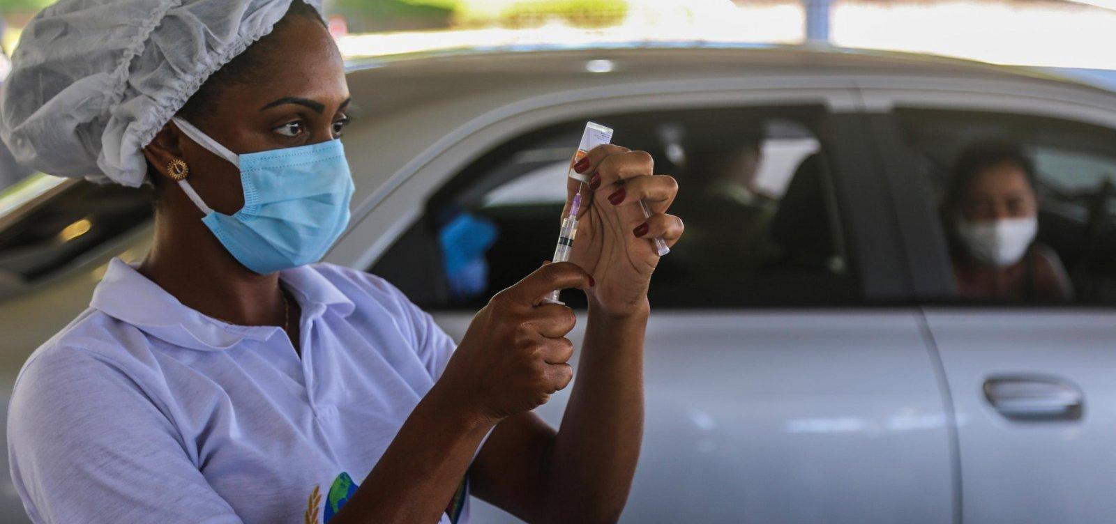Vacinação é ampliada em Salvador para novos públicos nesta quarta-feira