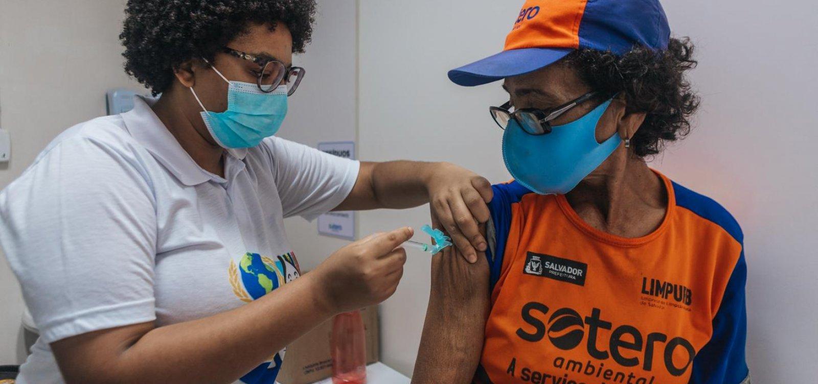 Salvador inclui novos públicos na vacinação contra covid nesta quarta; confira