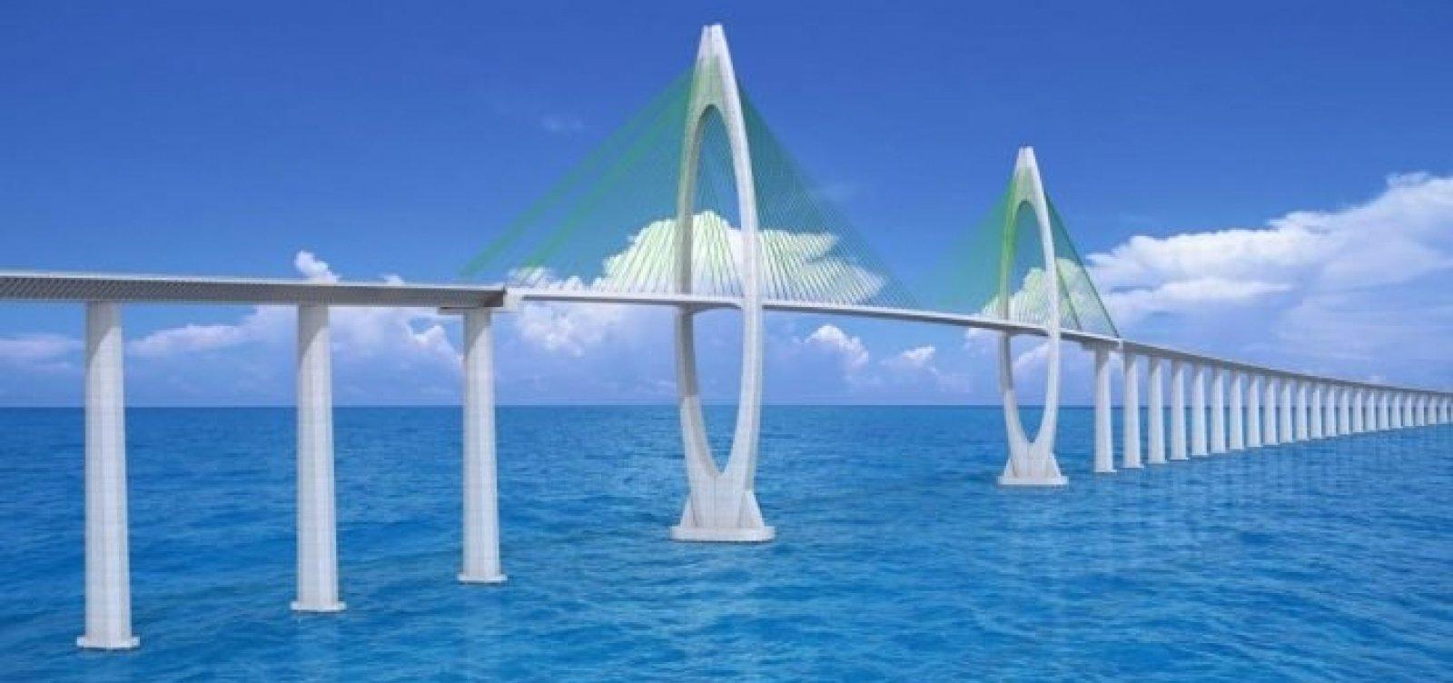 Governador diz que obras da Ponte Salvador-Itaparica devem iniciar em novembro