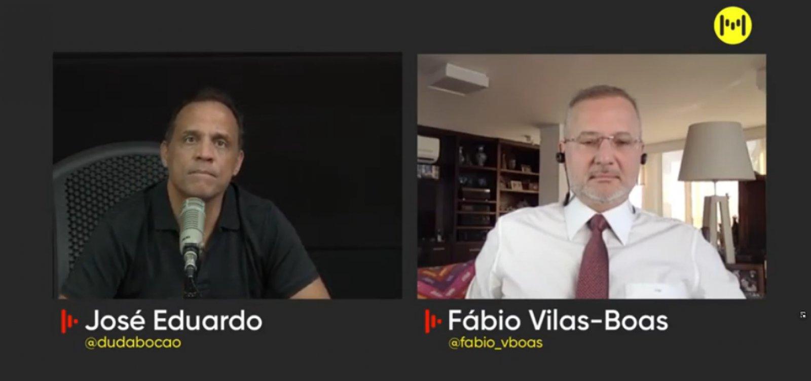 """Depois de crise da segunda dose, Vilas-Boas diz que voltará a armazenar CoronaVac: """"Não vamos mais confiar"""""""