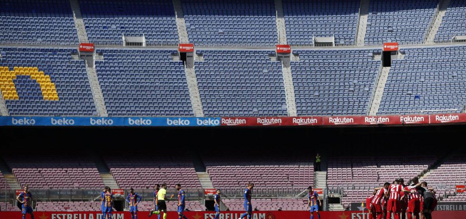 Torcida voltará aos estádios em algumas regiões da Espanha