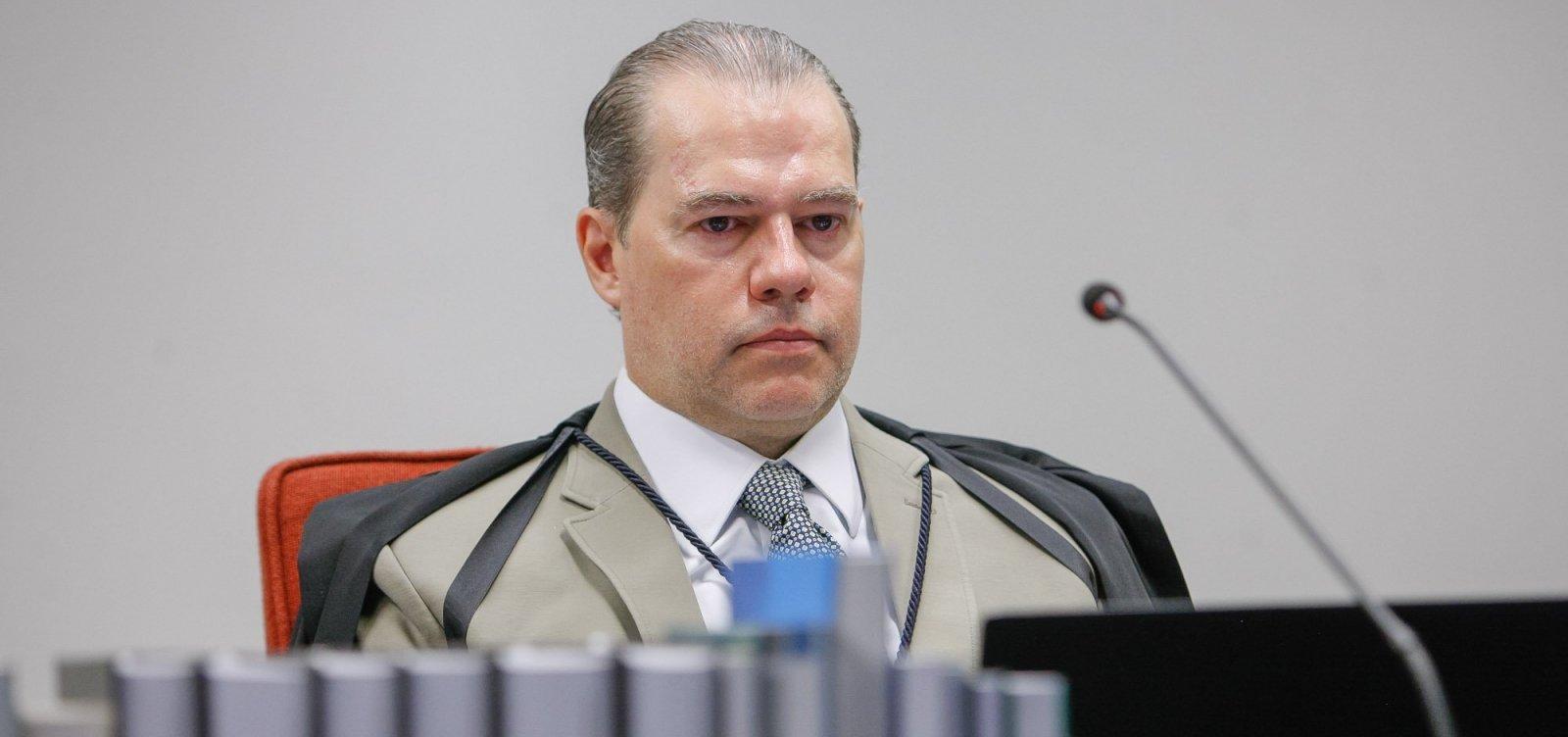 PGR deve recomendar arquivamento de pedido de investigação contra Toffoli