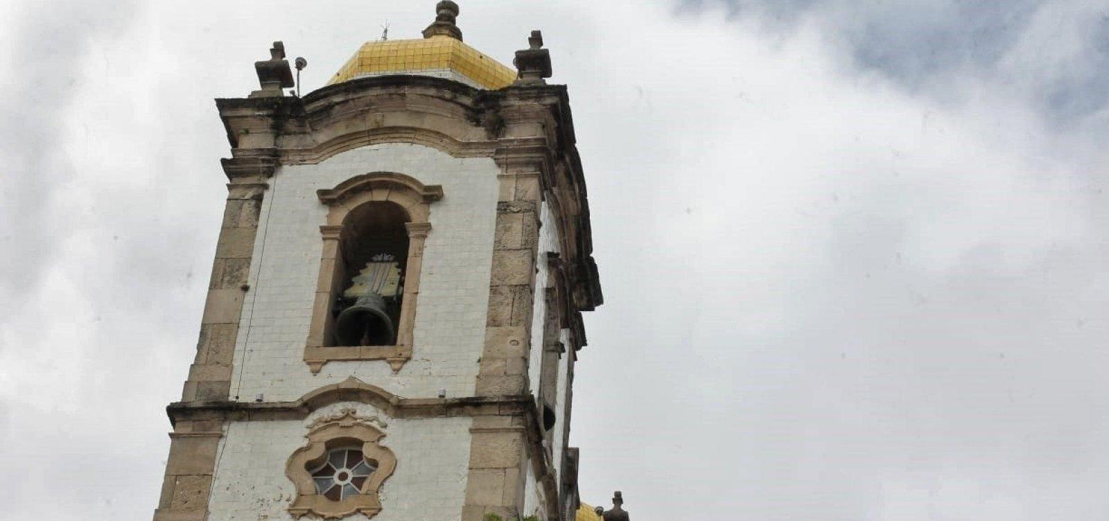 Sinos da Igreja do Bonfim tocam juntos pela primeira vez após 30 anos