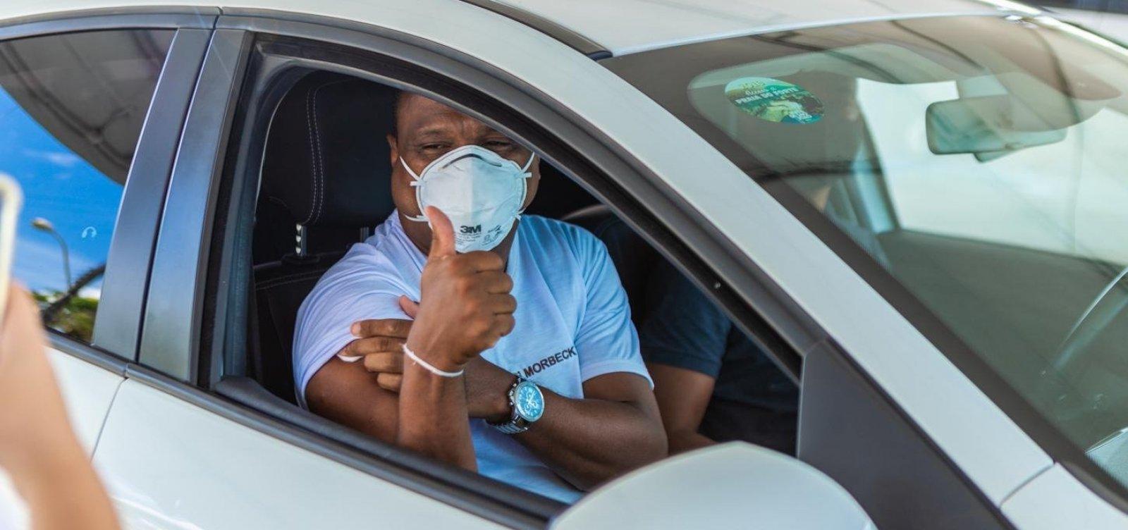 Salvador inicia vacinação de pacientes com câncer em tratamento no Cican; confira informações
