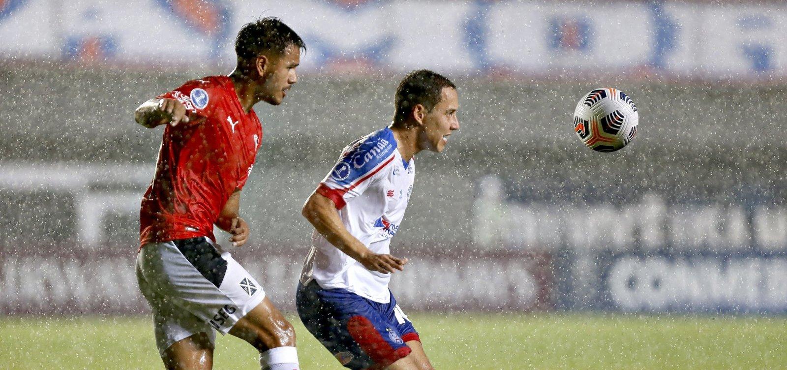 Com resultado magro, Bahia precisará vencer argentinos na luta por uma vaga na Sul-Americana