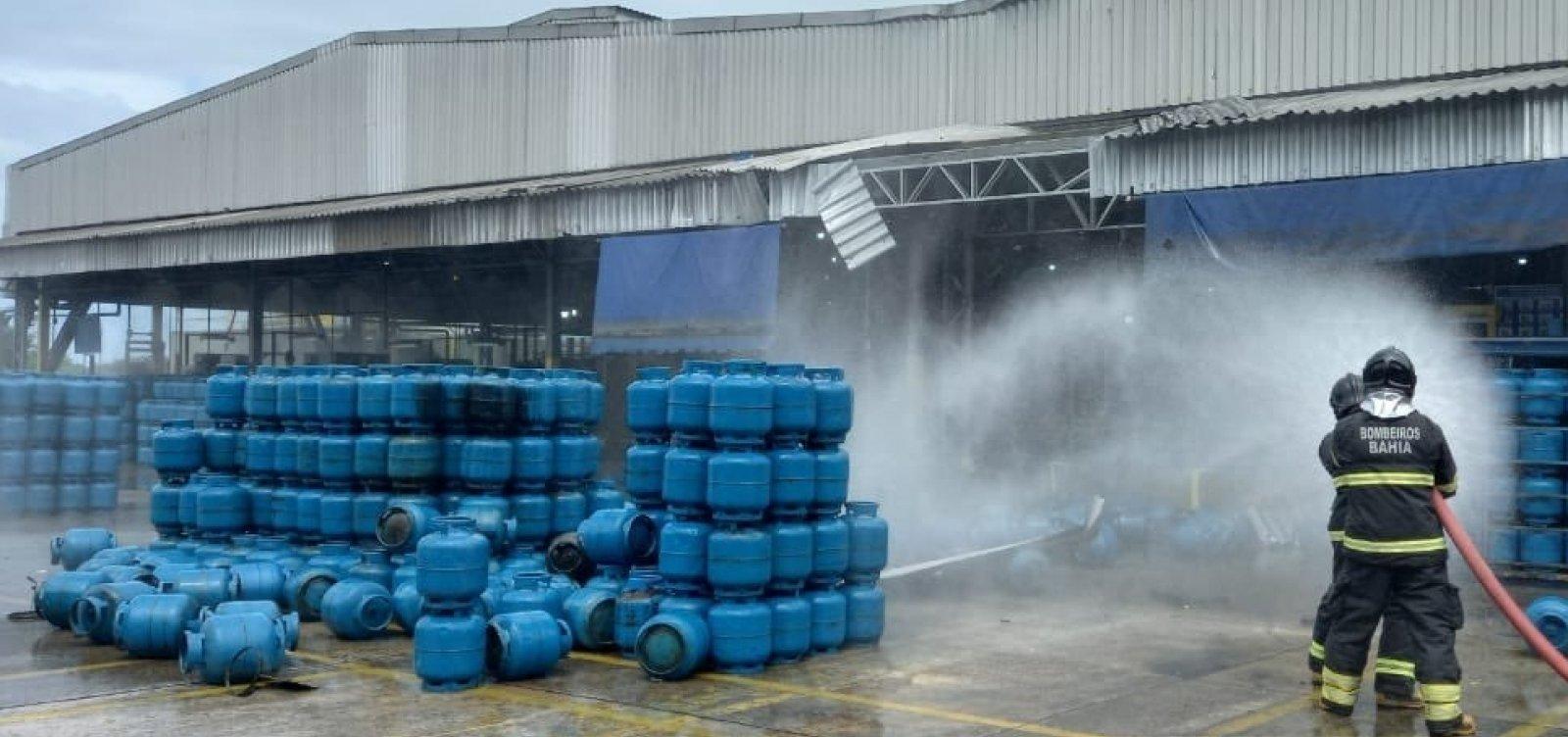 Explosão em empresa de gás mata um e deixa dois feridos em Mataripe