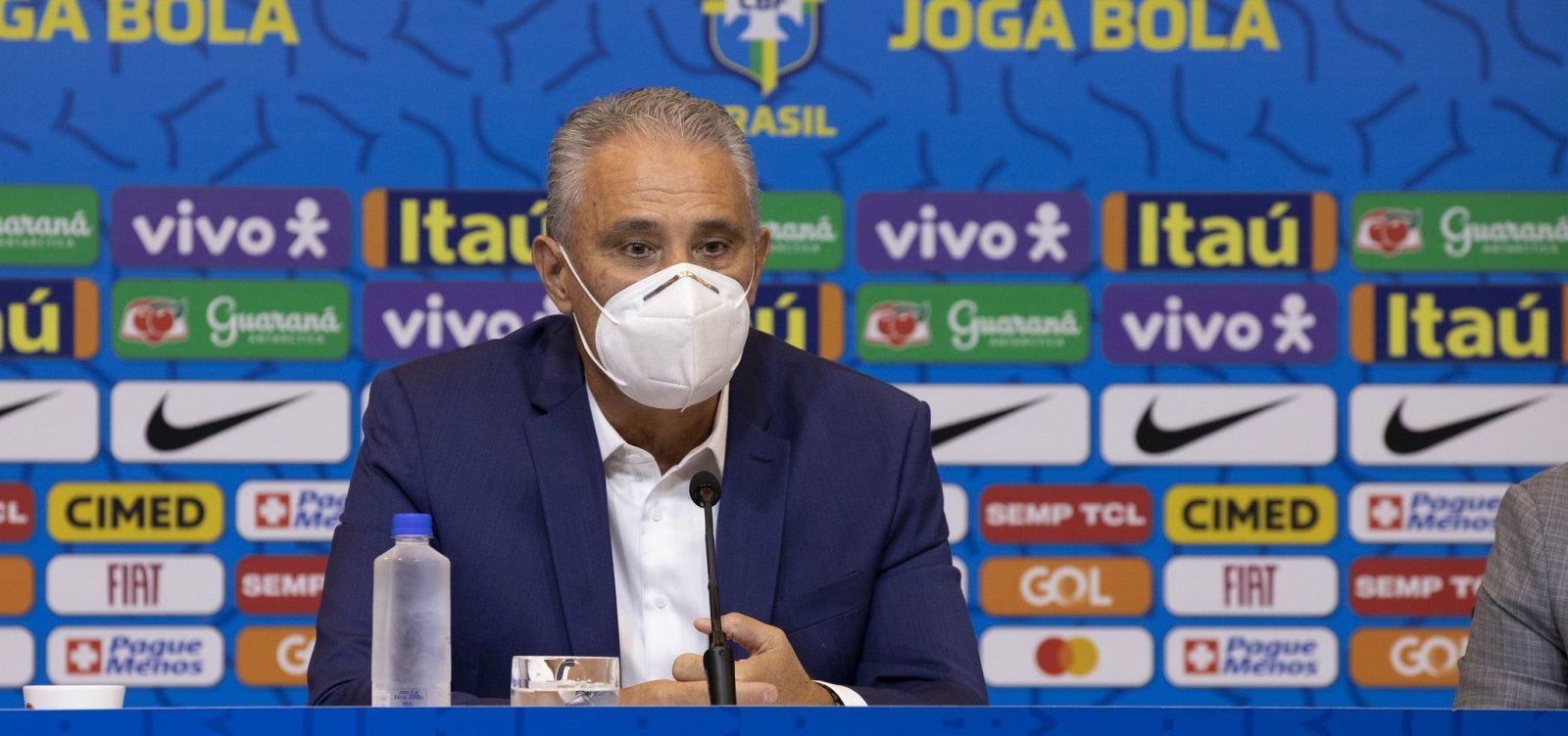 Confira os convocados por Tite para os próximos jogos das Eliminatórias da Copa do Mundo