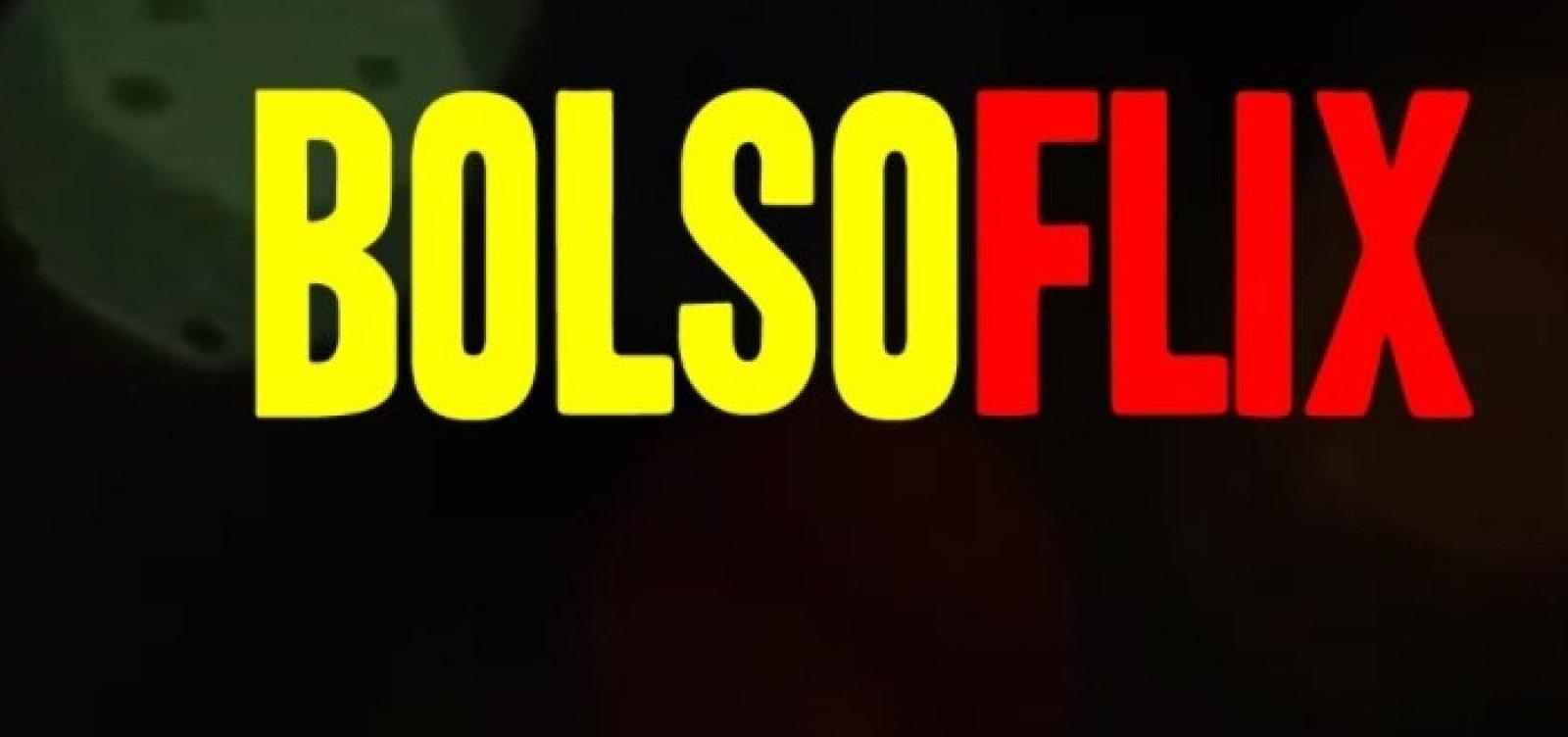 Inspirada no streaming, plataforma 'Bolsoflix' reúne vídeos com trapalhadas do governo