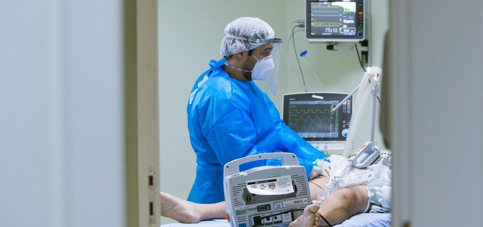 Salvador registra 756 novos casos de Covid-19 e 46 mortes pela doença em 24 horas