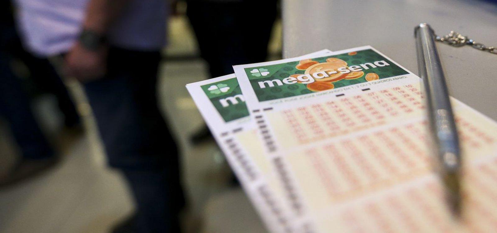 Mega-Sena tem prêmio estimado em R$ 33 milhões