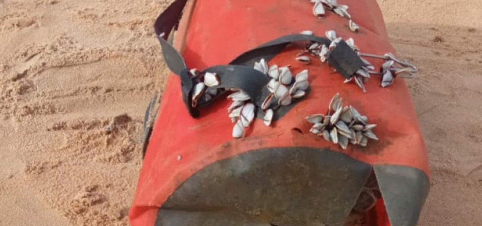 Cerca de 52 kg de cocaína são encontradas em mochilas na praia de Nova Viçosa