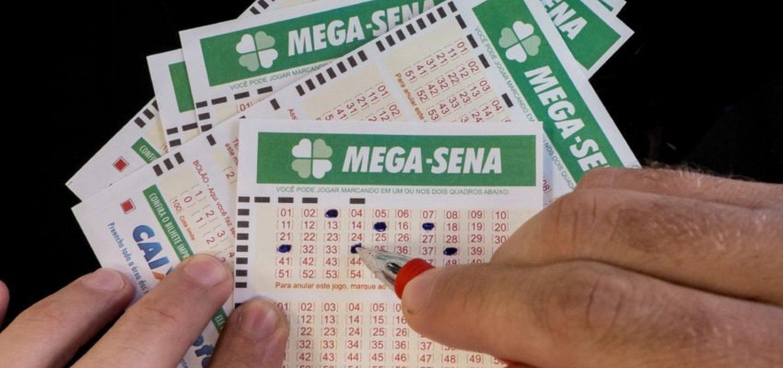 Mega-Sena: sem ganhadores, prêmio acumula em R$ 40 milhões