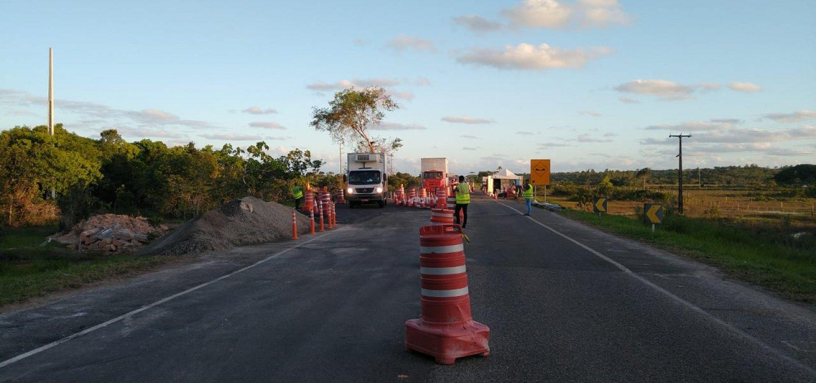 Obras de recuperação do solo na Linha Verde têm previsão de conclusão postergada para final de junho