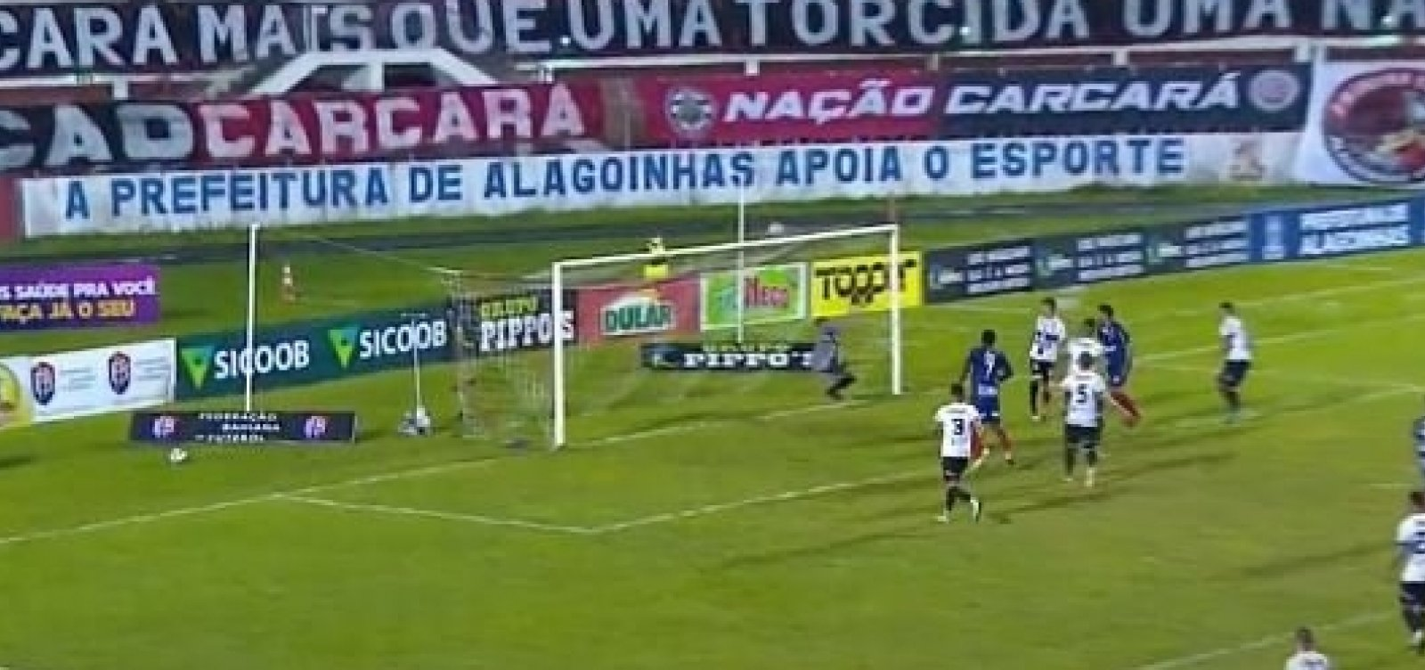 Primeiro jogo da final do Baiano tem muita emoção e empate em 2 a 2 entre Atlético e Bahia de Feira