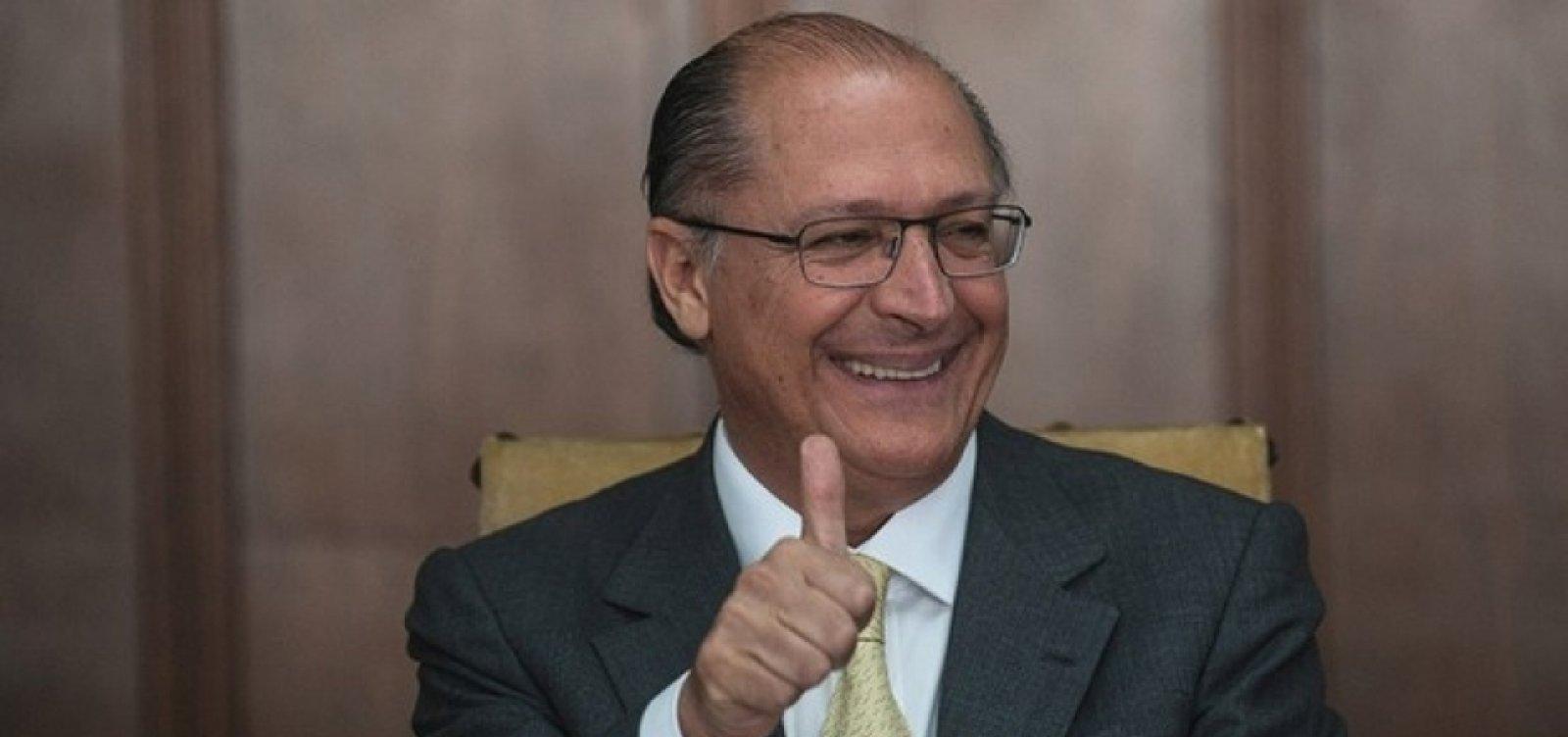 """""""Essa hipótese existe"""", diz Neto sobre ida de Alckimin para o DEM"""