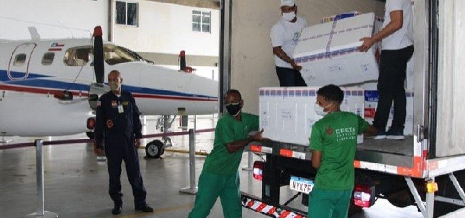 Bahia receberá mais 297.300 doses de vacina contra Covid-19 nesta terça-feira