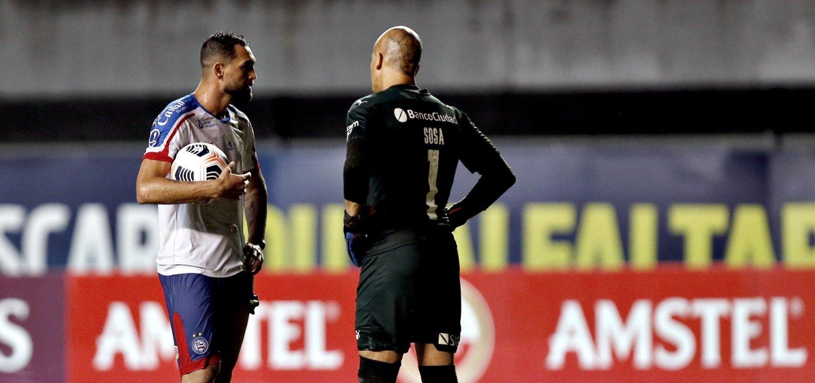 Por última rodada com vantagem, Bahia enfrenta 'Rey de Copas' na Argentina