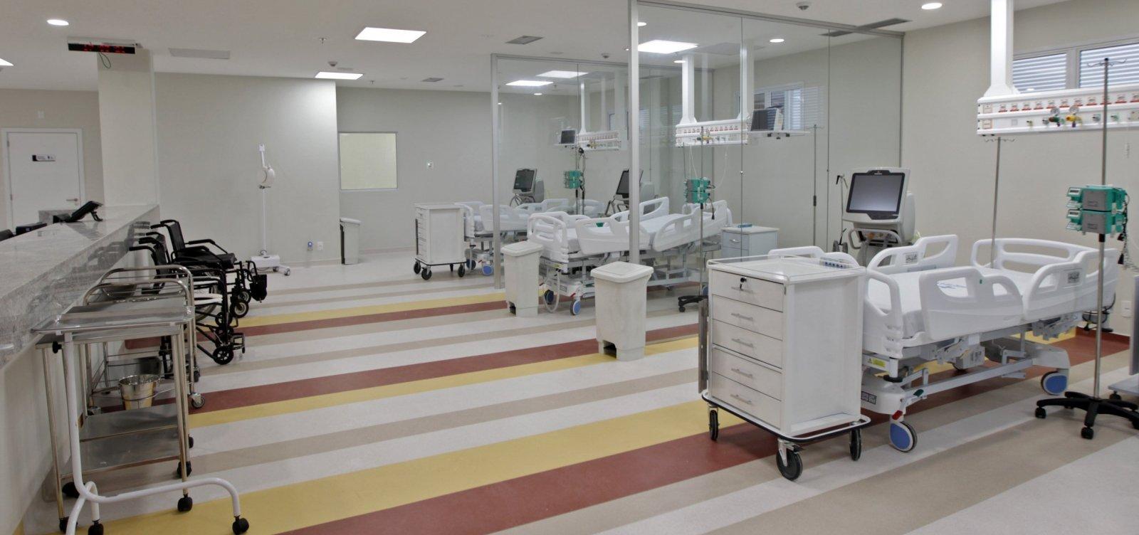 Três hospitais de Salvador e 16 do interior estão com ocupação total de UTIs