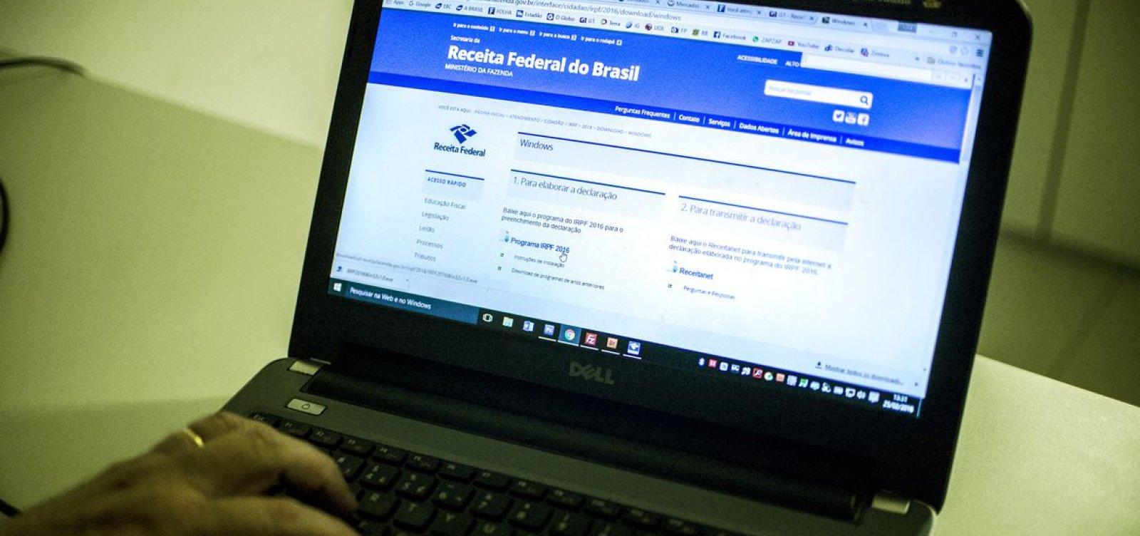 Receita libera consulta a restituição do Imposto de Renda na segunda
