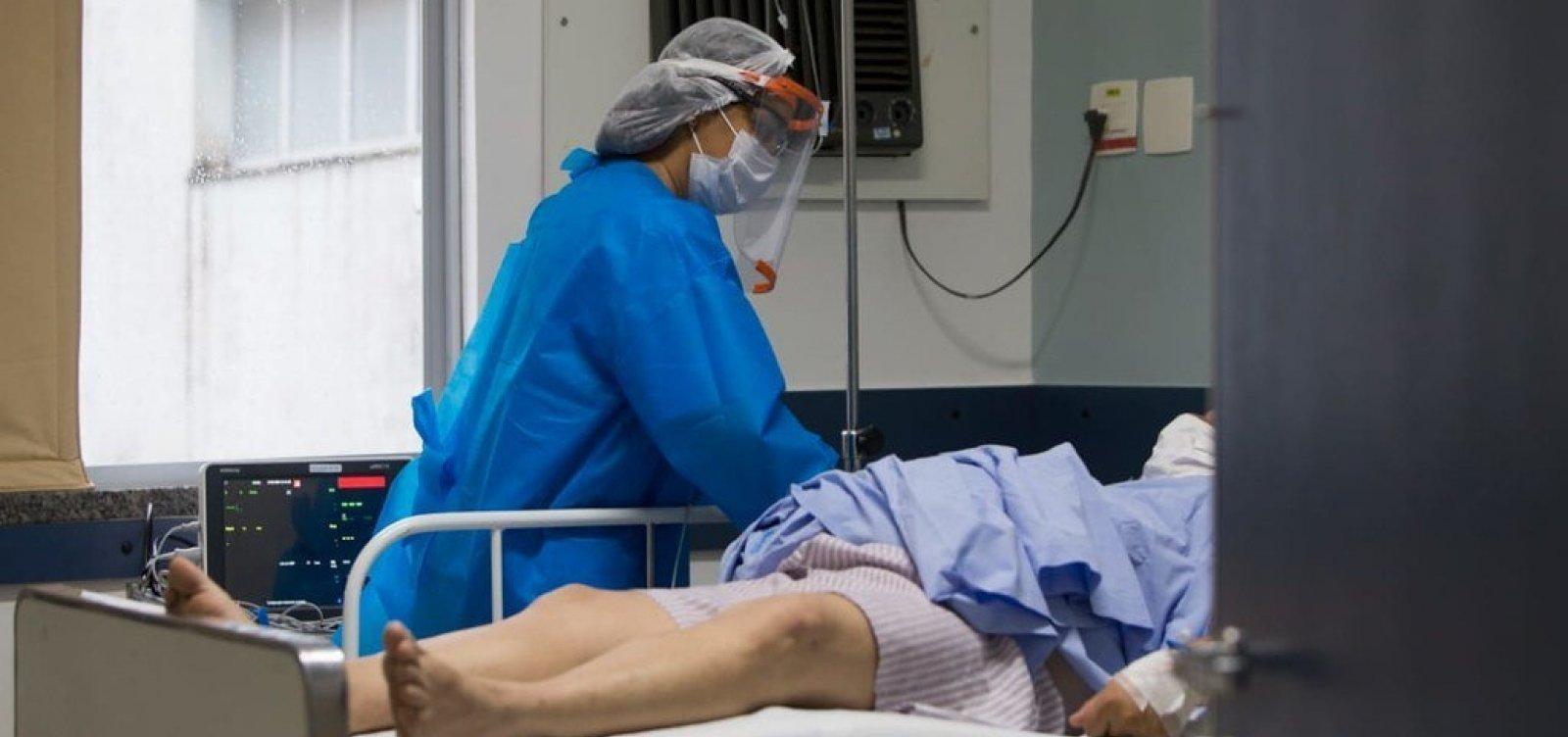 Em 24 horas, Bahia registra 4.461 casos de Covid-19 e 83 mortes pela doença