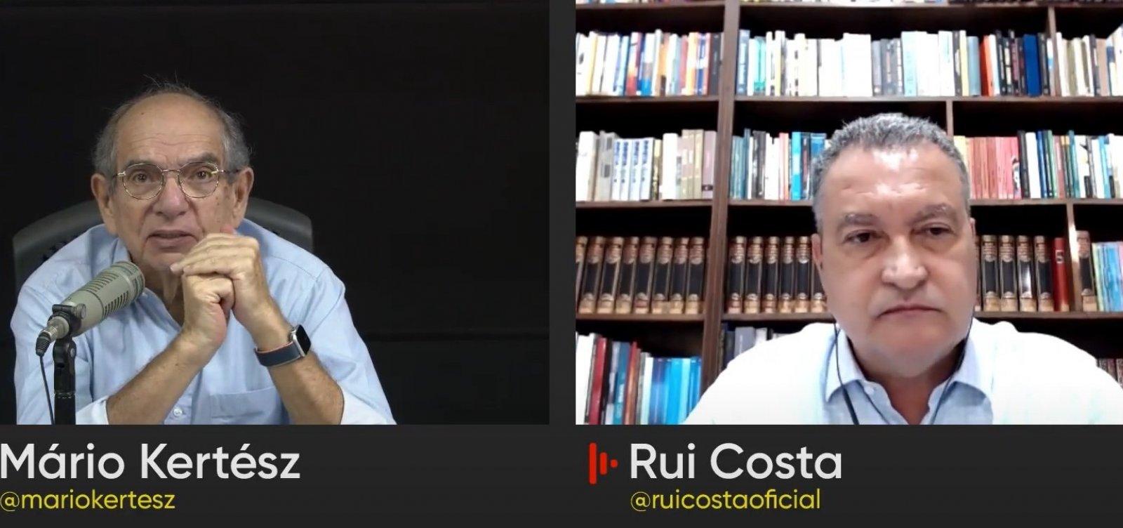"""""""Bolsonaro é um pesadelo com data para acabar"""", diz Rui Costa"""