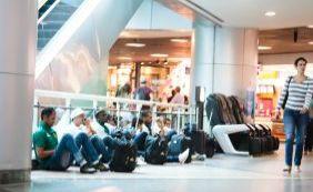 Até quando? Ar condicionado do aeroporto de Salvador volta a apresentar defeito
