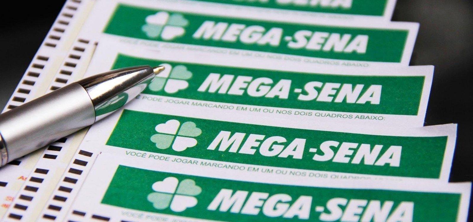 Mega-Sena: duas apostas dividem prêmio e levam R$ 47,3 milhões cada