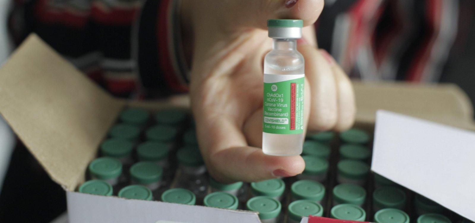 Bahia recebe novo lote com 366 mil doses de vacina contra a Covid-19