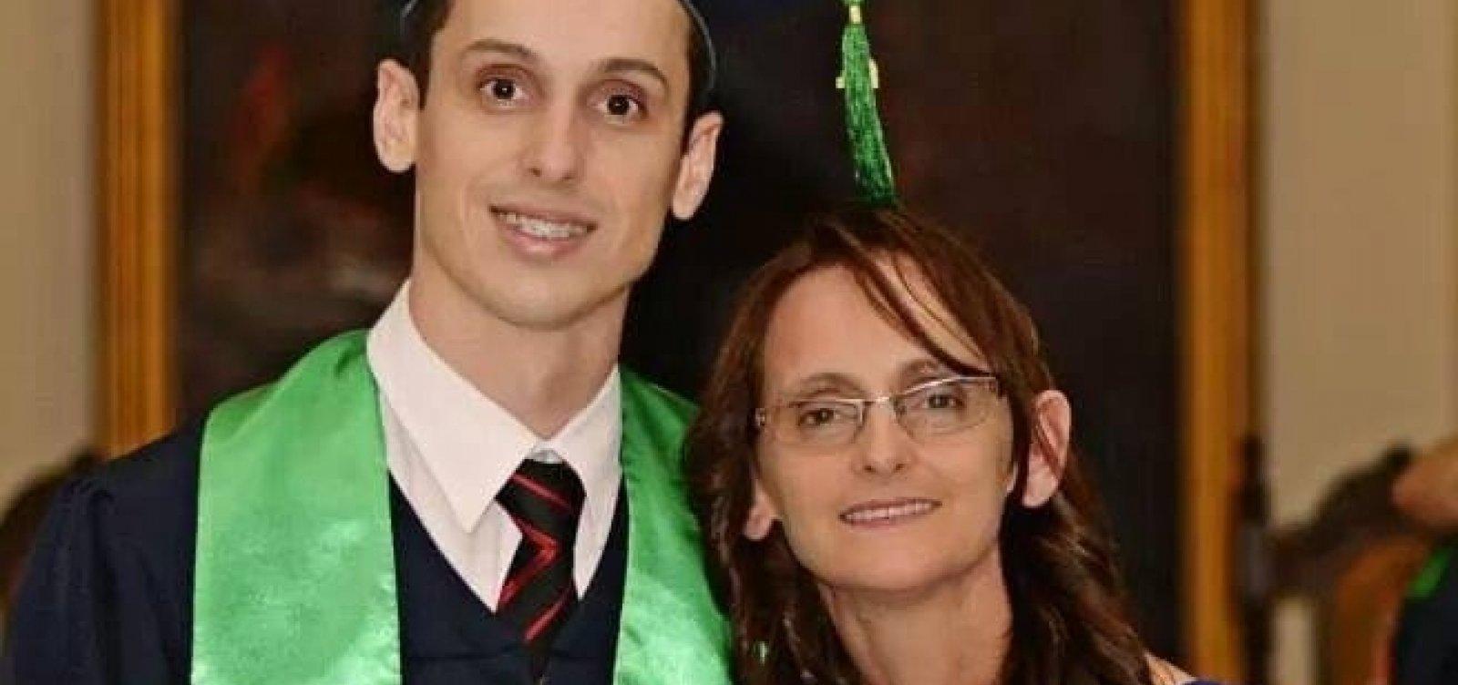 """""""Acho que ele é um psicopata"""", dispara mãe do doutor Andrade contra o suspeito do crime"""