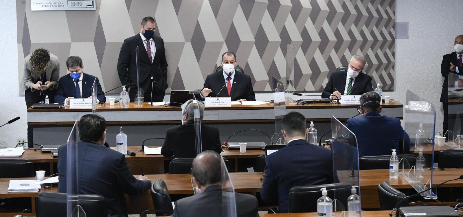 CPI aprova quebra de sigilos de Pazuello, Ernesto Araújo e assessores