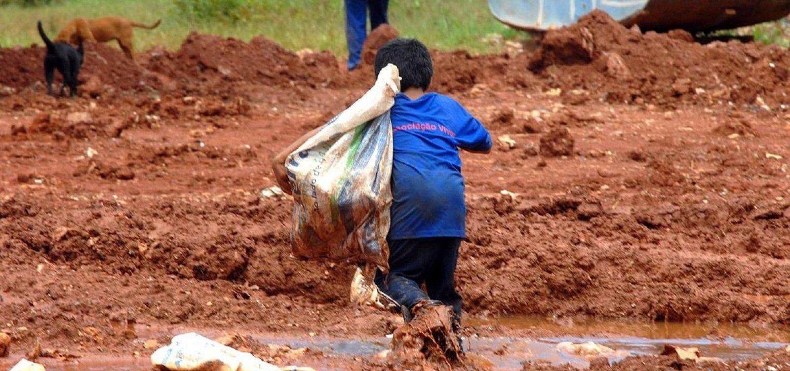 Trabalho infantil no mundo aumenta pela primeira vez em duas décadas