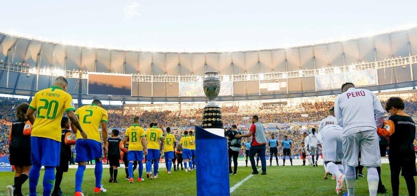 Maioria do STF se posiciona a favor da Copa América no Brasil