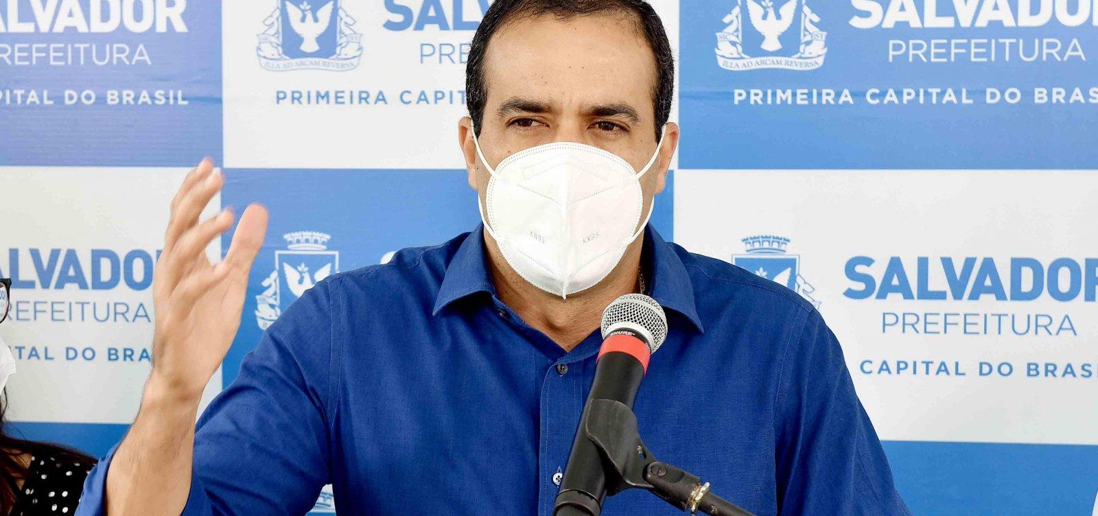 Prefeitura de Salvador pretende concluir vacinação dos grupos prioritários até quarta