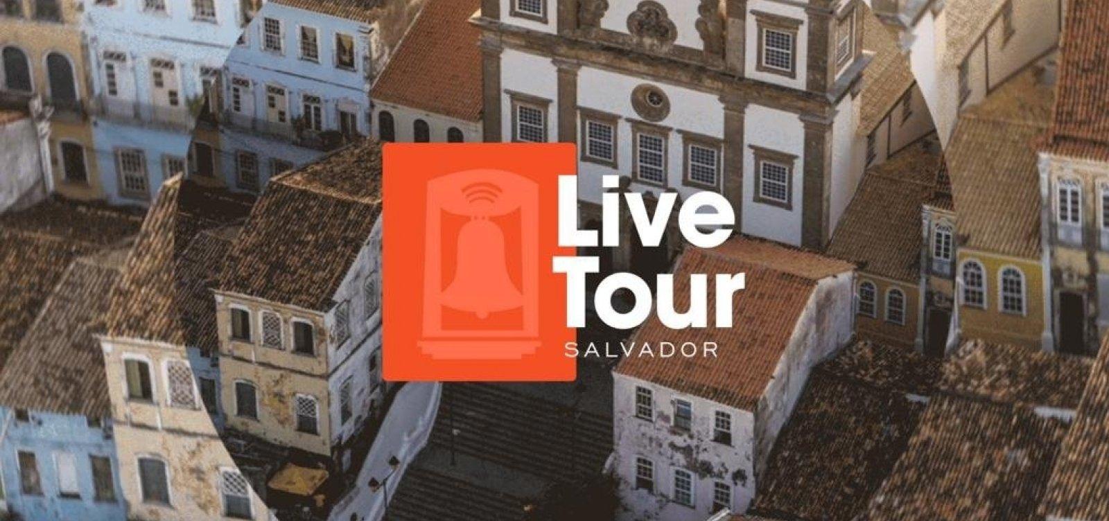 Prefeitura fará série de lives para fomentar turismo interno em Salvador