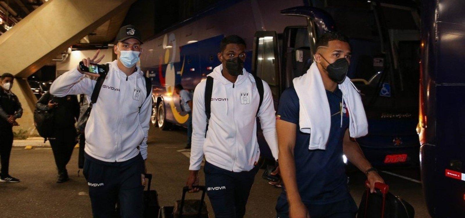 Copa América: sobe para 12 o número de infectados com Covid-19 na seleção da Venezuela