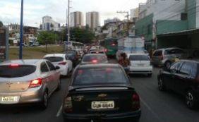 Trânsito é intenso no Rio Vermelho e Vasco da Gama; veja pontos de lentidão