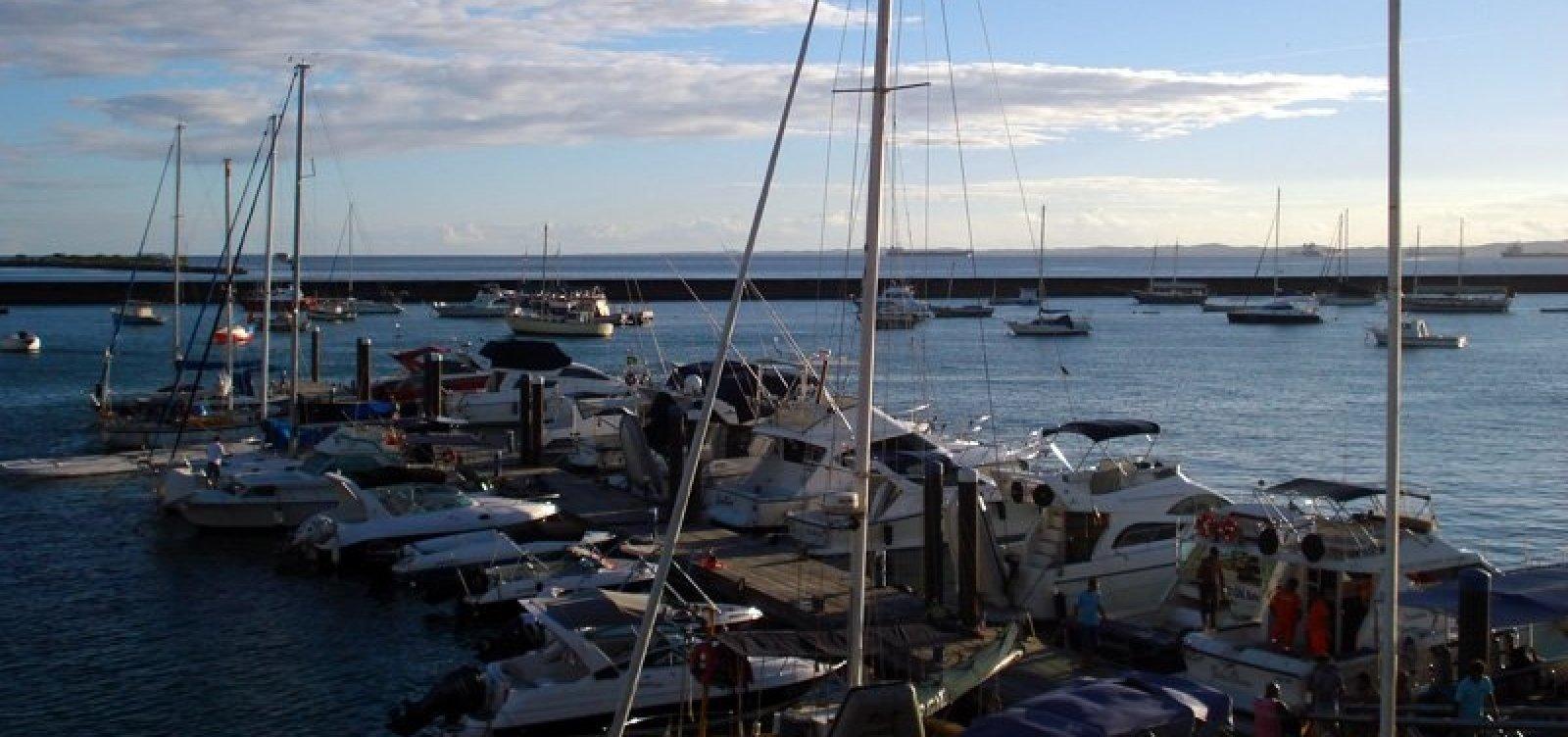 Com mar agitado, travessia Salvador-Mar Grande é suspensa nesta segunda
