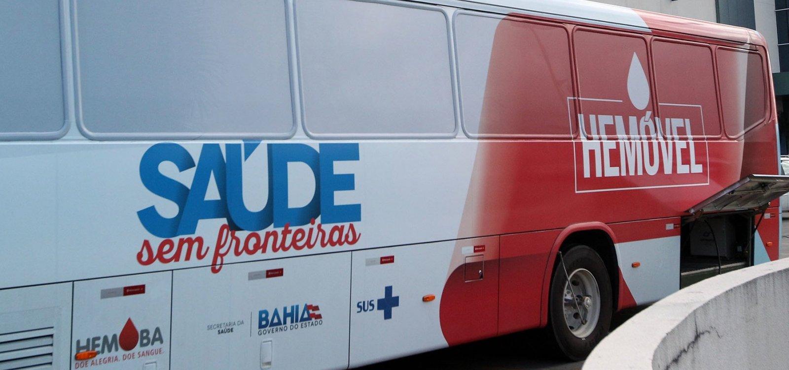 Hemóvel coleta doações de sangue no bairro do Canela nesta semana