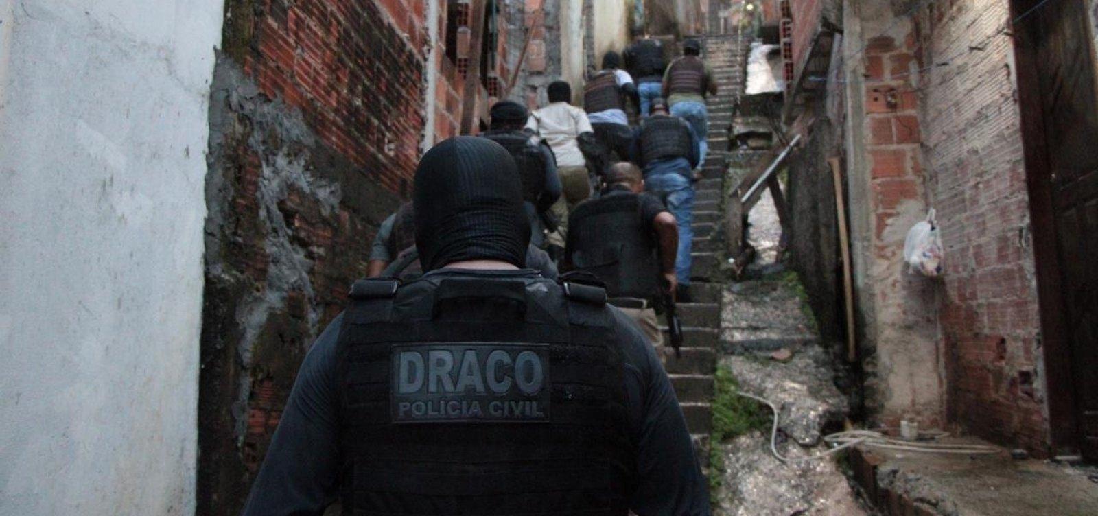 Após dez ataques a bancos em Salvador, operação cumpre mandados contra suspeitos